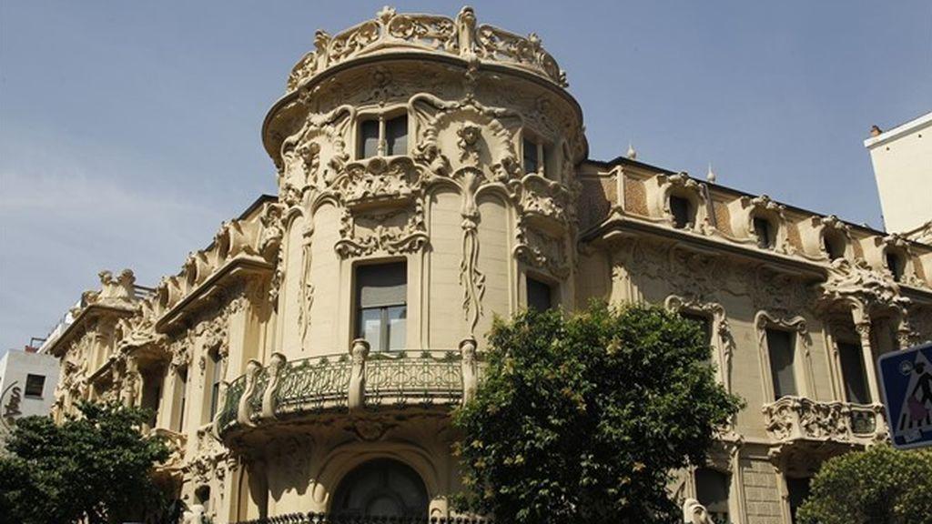 Sede de la Sociedad General de Autores y Editores (SGAE), en Madrid.