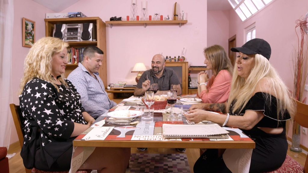 Cena de Miguel Ángel en 'Ven a cenar conmigo'
