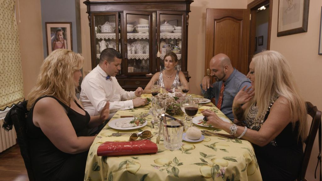 Cena de Lucía en 'Ven a cenar conmigo'