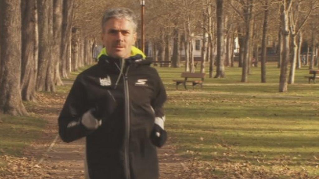 El atleta Martín Fiz ha recibido el alta después de sufrir un atropello que le rompió cuatro costillas
