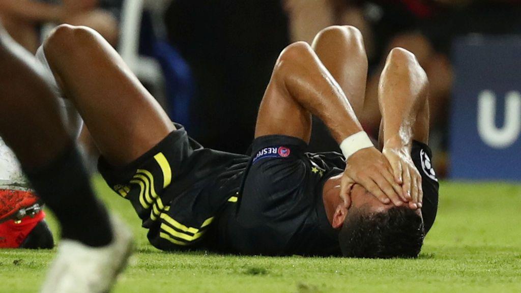 ¿Hubiese sido expulsado Cristiano con la camiseta del Real Madrid?