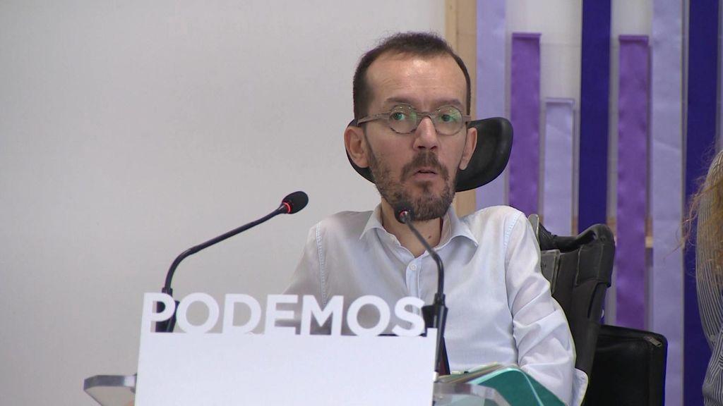 """Echenique critica la """"politización de la justicia"""" en el caso Máster"""