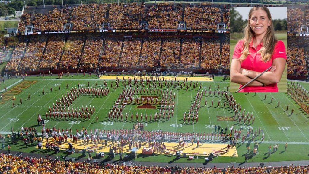 Impresionante homenaje a Celia Barquín en la universidad de Iowa donde estudiaba