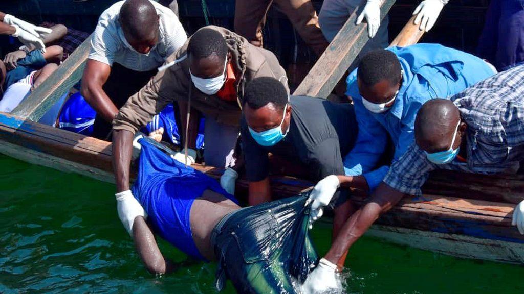 Aumentan a 209 los fallecidos en el naufragio de un ferri de Tanzania