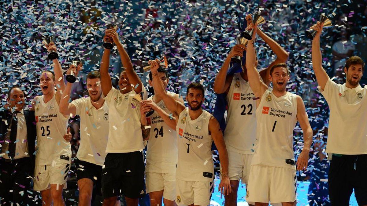 El Real Madrid se impone al Baskonia y conquista su quinta Supercopa (80-73)