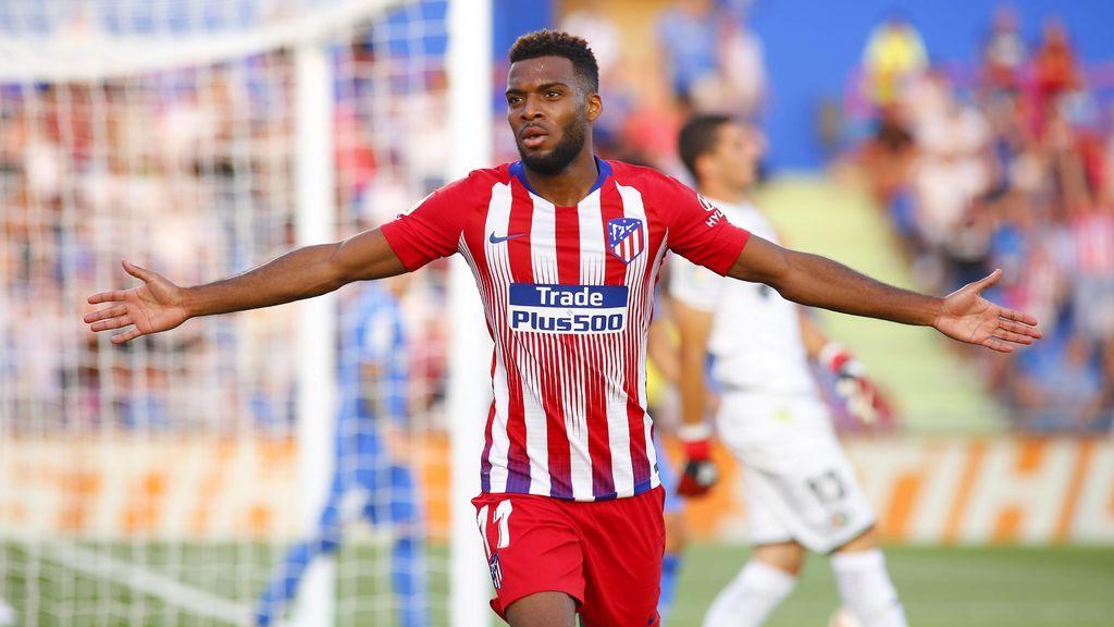 Lemar lidera al Atlético para conseguir ganar al Getafe (0-2)