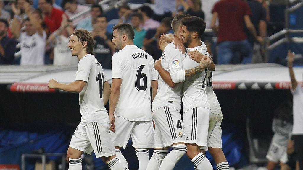 Asensio y el VAR dan la victoria al Real Madrid (1-0)