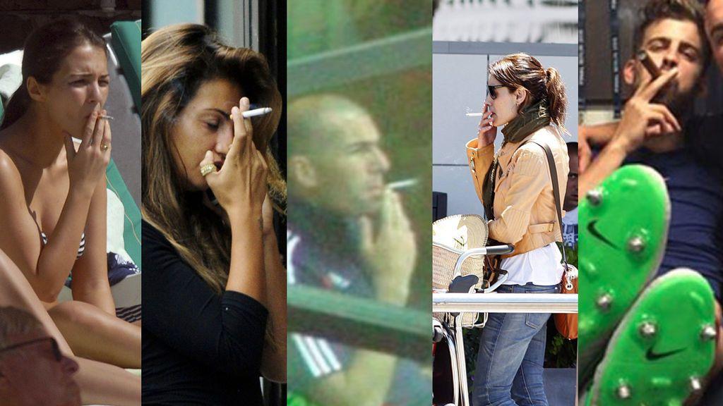 No sólo Victoria Federica: Famosos fumadores que te sorprenderán