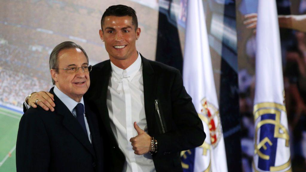 """Florentino Pérez, tras la salida de Cristiano: """"No le queríamos vender, pero se quería ir por razones personales"""""""