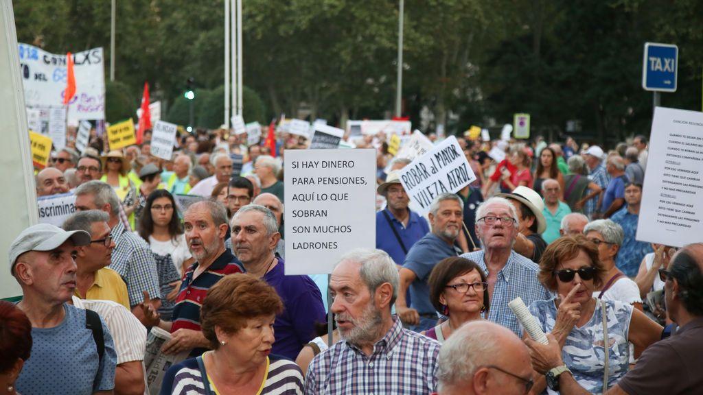 """Los pensionistas vuelven a las calles bajo el lema """"IPC es IPC"""""""