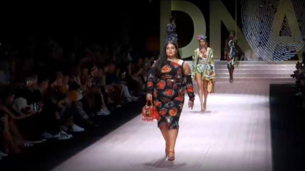 Modelos maduras y  tallas grandes, la nueva apuesta de Dolce Gabbana
