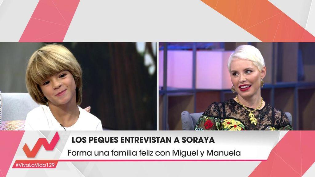 """Soraya quiere ampliar familia: """"Hay que darle un hermano a Manuela"""""""