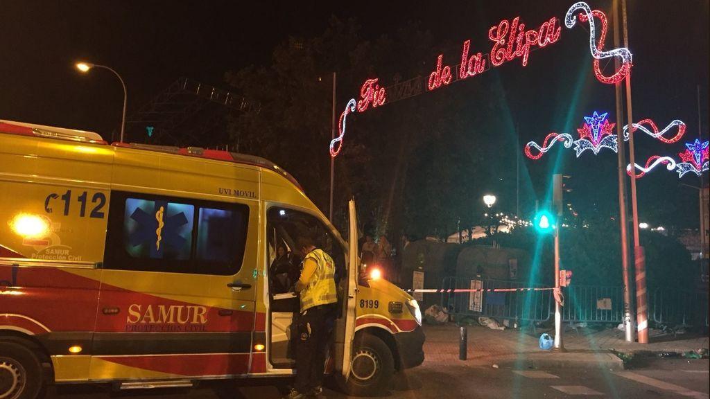 En estado crítico un joven de 20 años tras ser agredido con arma blanca en las fiestas de La Elipa