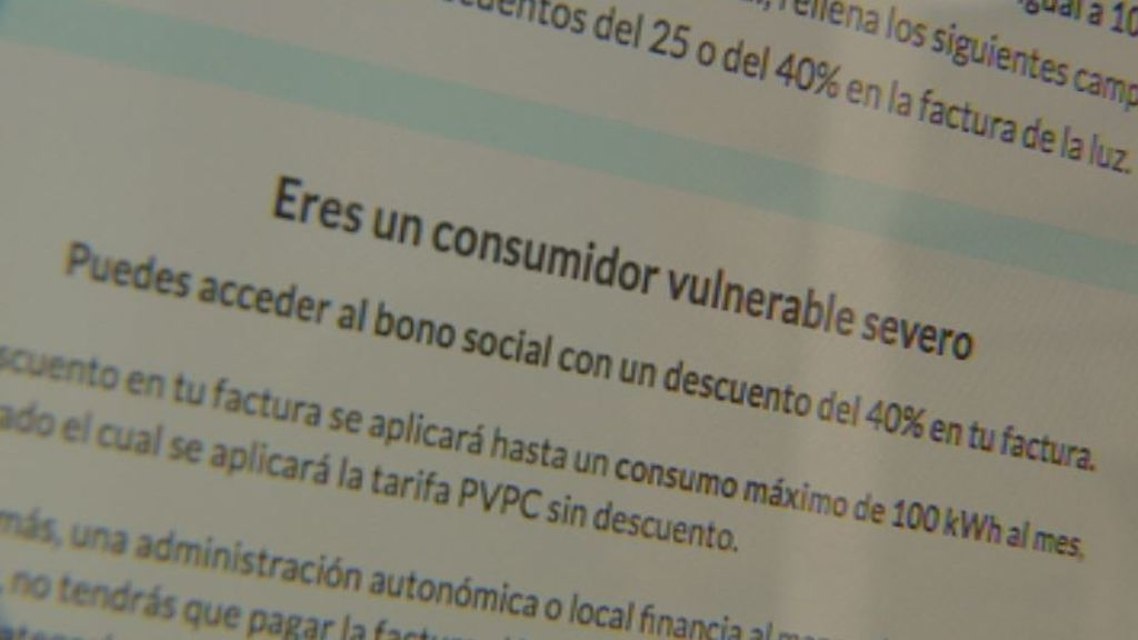 El laberinto del bono social eléctrico