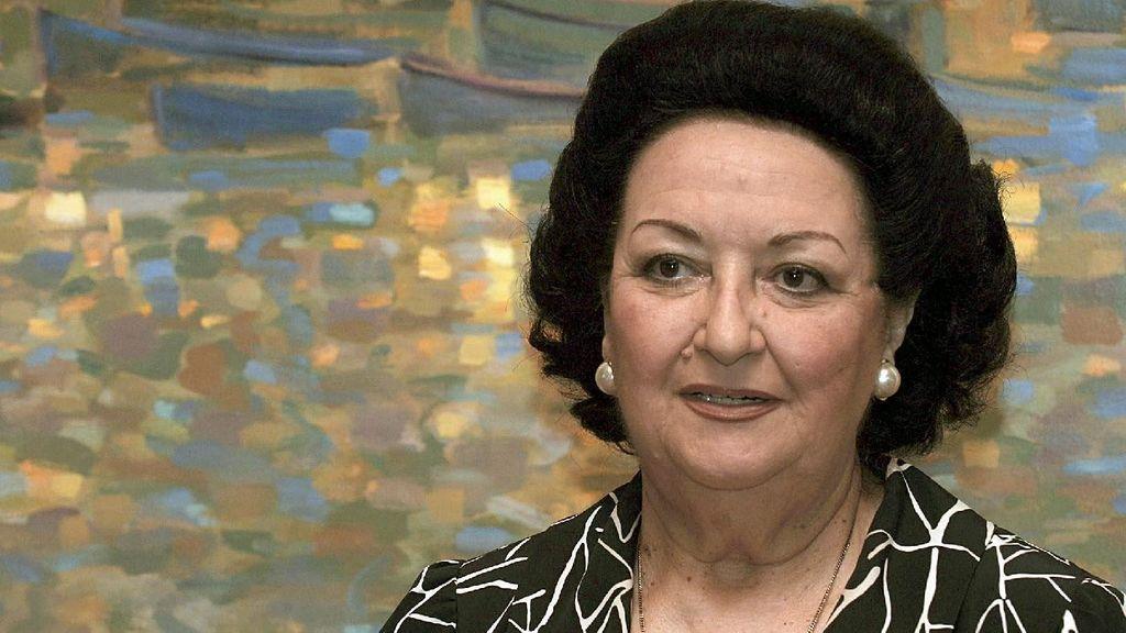 La soprano Montserrat Caballé, ingresada en el Hospital de Sant Pau de Barcelona