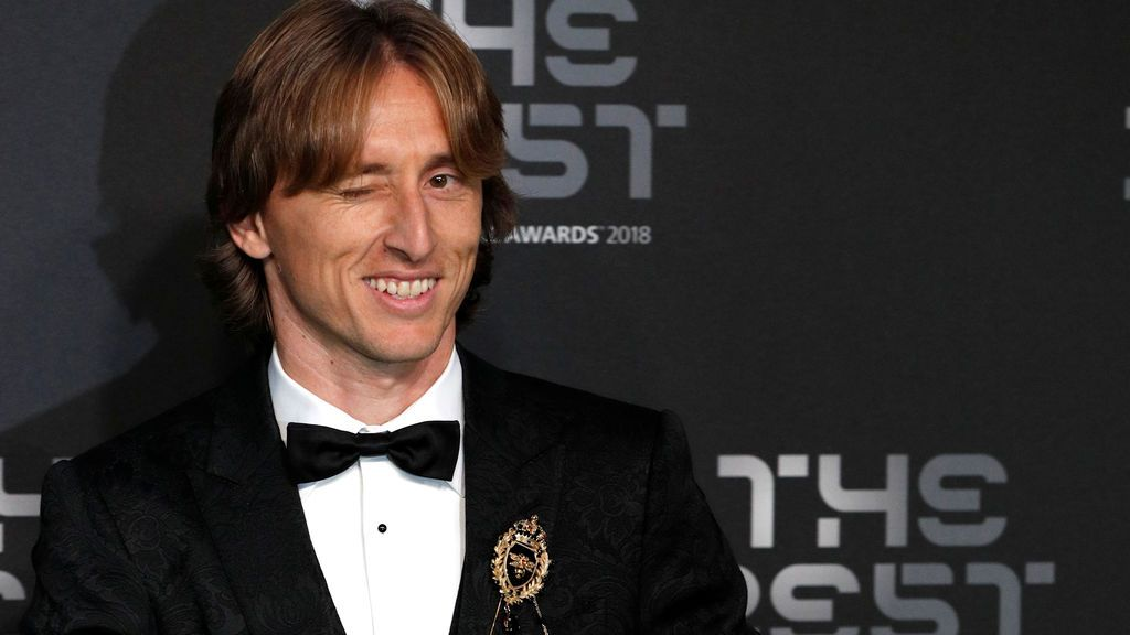Luka Modric, 'The Best' 2018