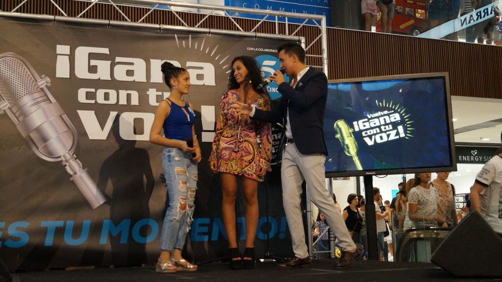 Ginger y Aisha, vencedoras de 'Gana con tu voz' 2018