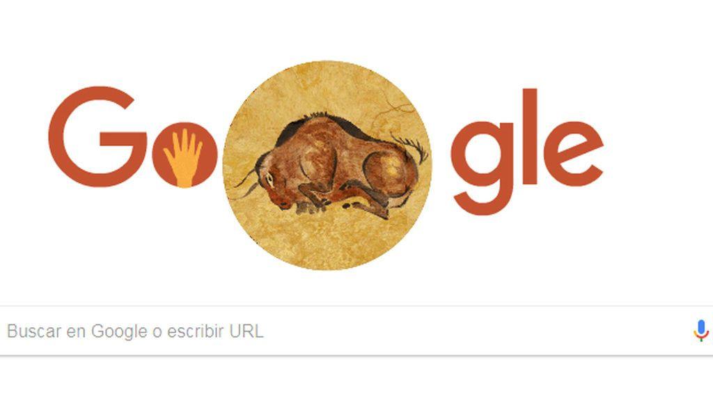 La Cueva de Altamira, el doodle de Google