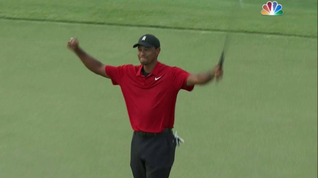 Tiger Woods vuelve a ganar un título cinco años después