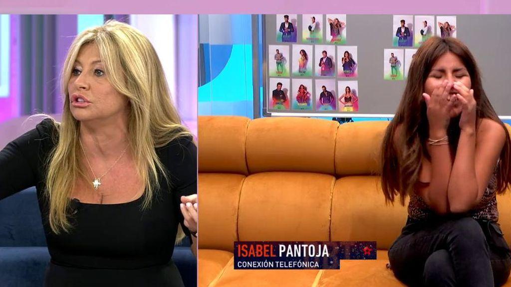 ¿Cómo se gestó la llamada de Isabel Pantoja a su hija Isa en 'GH VIP'?