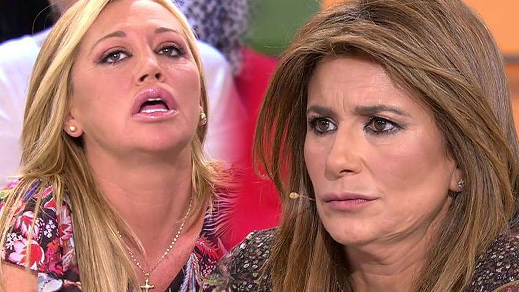 """Belén Esteban: """"Quiero pedir públicamente perdón a Gema, no he sido justa con ella"""""""