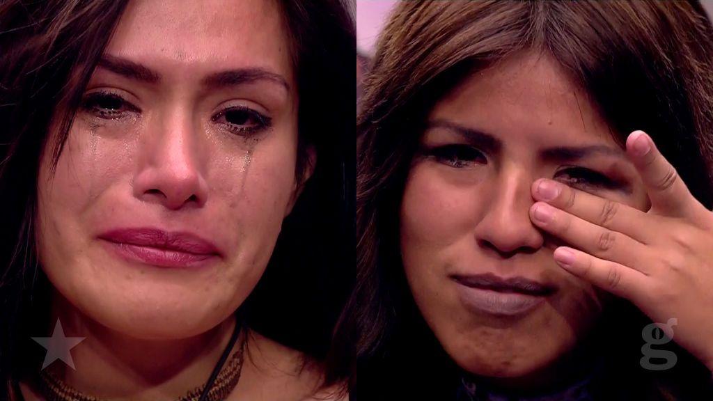 Miriam e Isa lloran