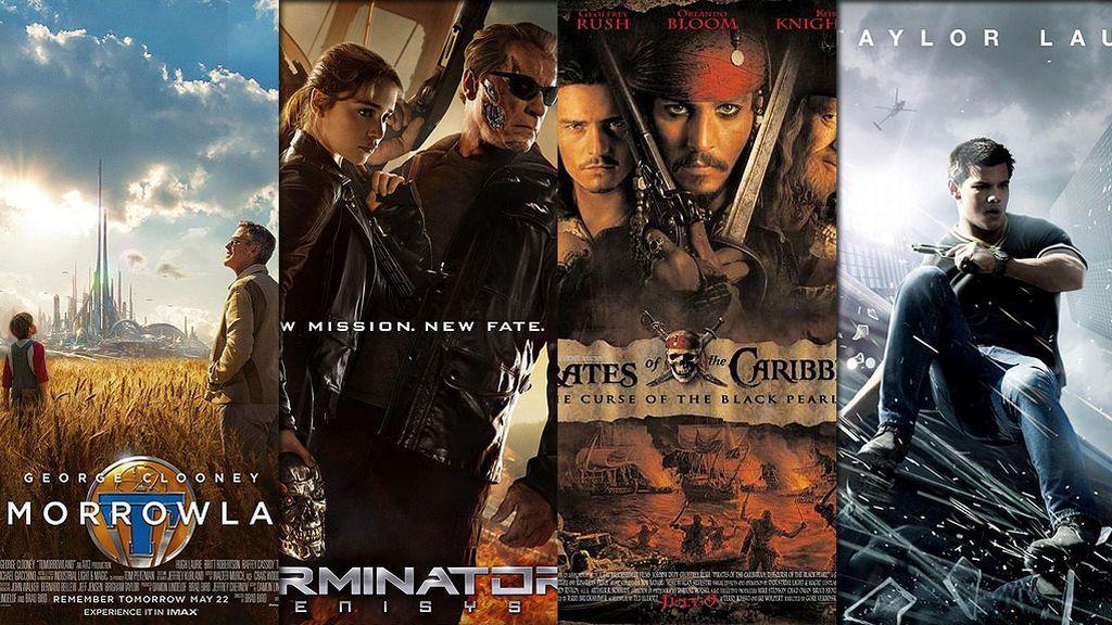 'Piratas del Caribe', 'Terminator Génesis', 'Tomorrowland'... Ciencia ficción y fantasía esta semana en FDF