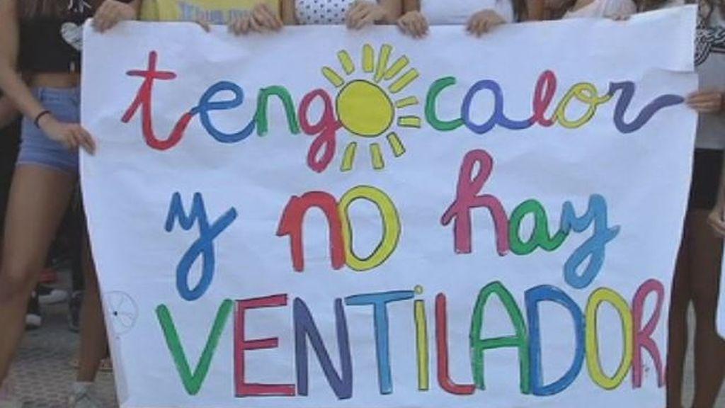 Rebelión en las aulas andaluzas: paros y protestas por el calor