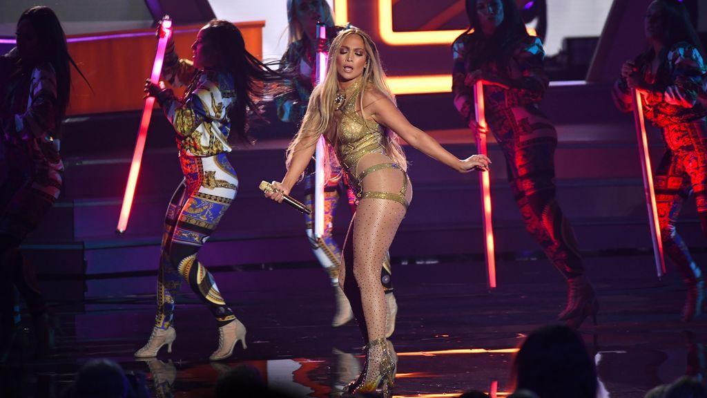 El culetazo viral 'On The Floor' de Jennifer López durante un concierto en Las Vegas