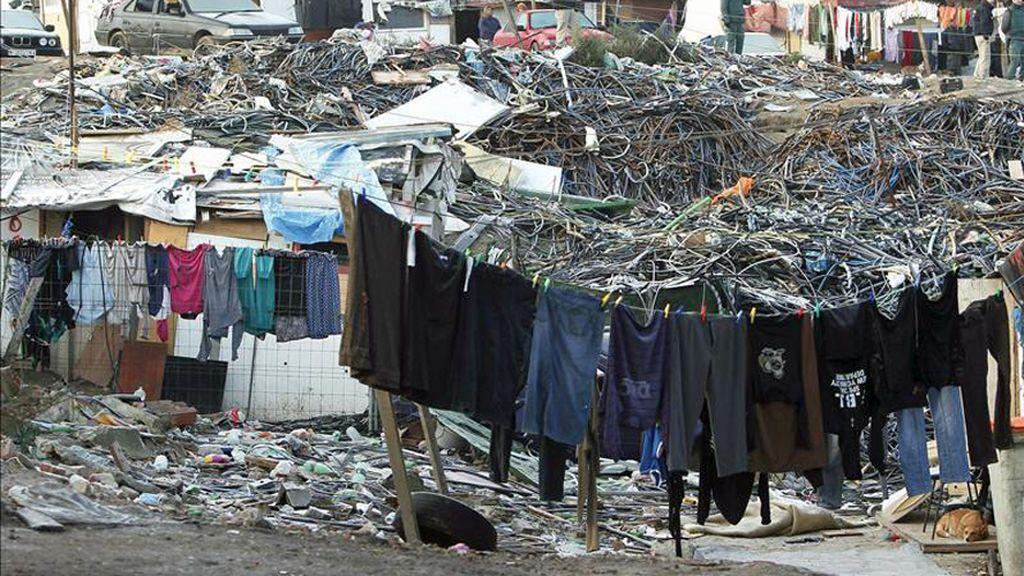 El poblado chabolista de 'El Gallinero', en Madrid, desaparecerá después de dos décadas