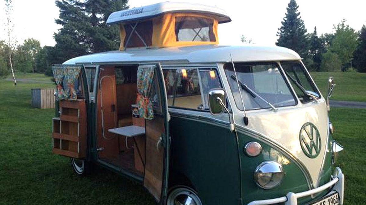 La mítica Volkswagen hippie, la primera minicasa sobre ruedas de la historia