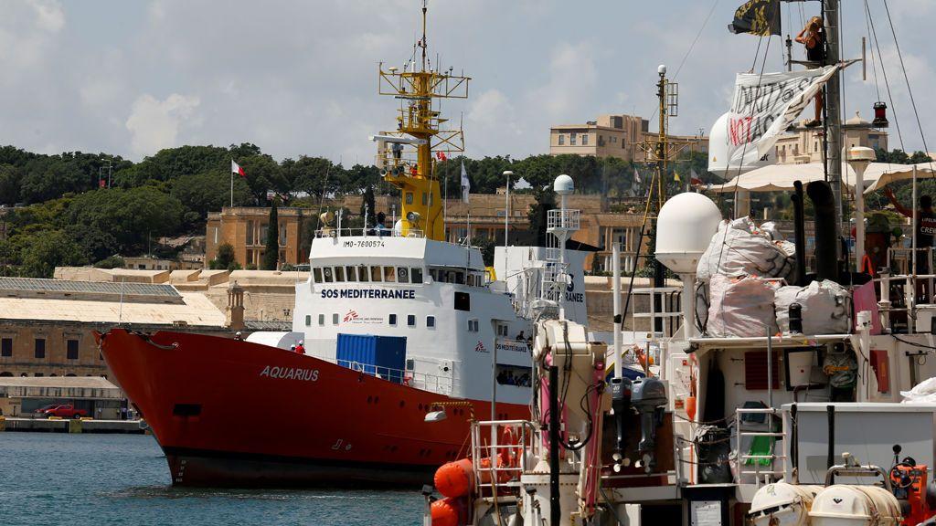 España acogerá a 15 de los 58 migrantes rescatados nuevamente por el Aquarius