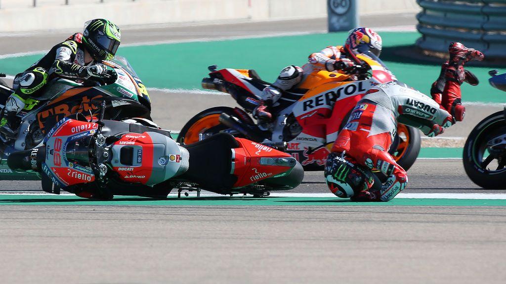 Jorge Lorenzo consiguió la Pole en el último suspiro — Moto GP