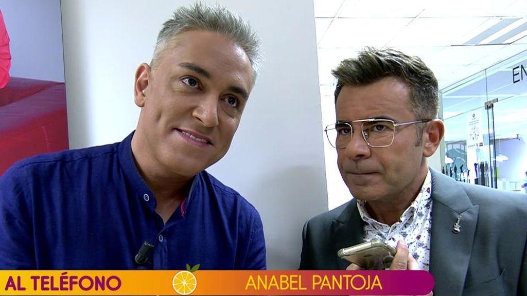 Anabel Pantoja niega que su primo le haya presionado