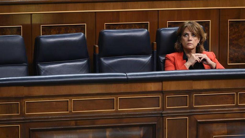ERC critica que Delgado no denunciara  a los jueces que iban con menores y obtiene el silencio de la ministra