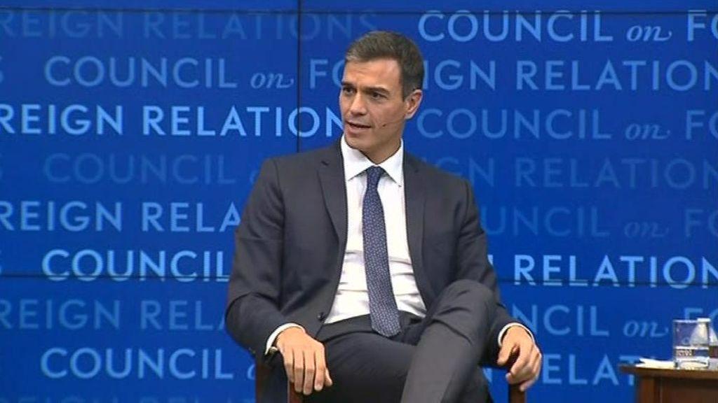 Pedro Sánchez reitera que resistirá hasta las elecciones de 2020