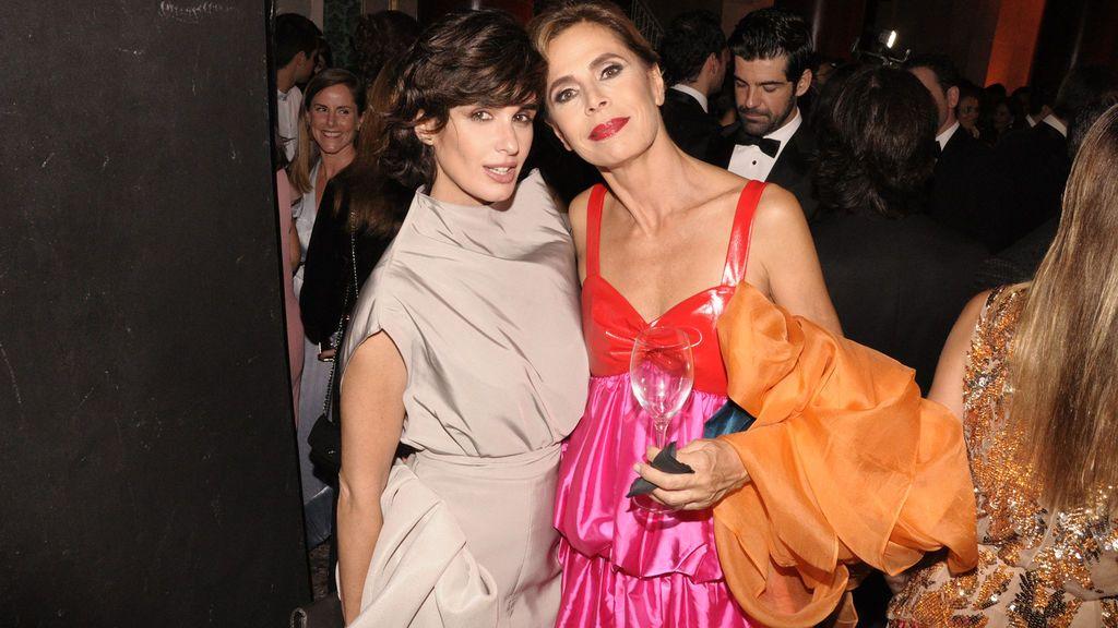 Paz Vega y Ágatha Ruiz de la Prada disfrutando de la velada en el Teatro Real