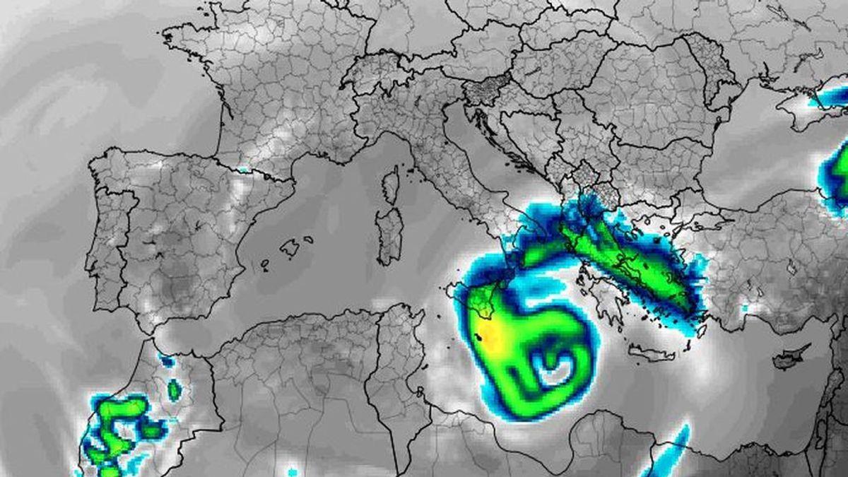 Crece el medicane del Mediterráneo: Zorbas podría ser el más fuerte de los registrados