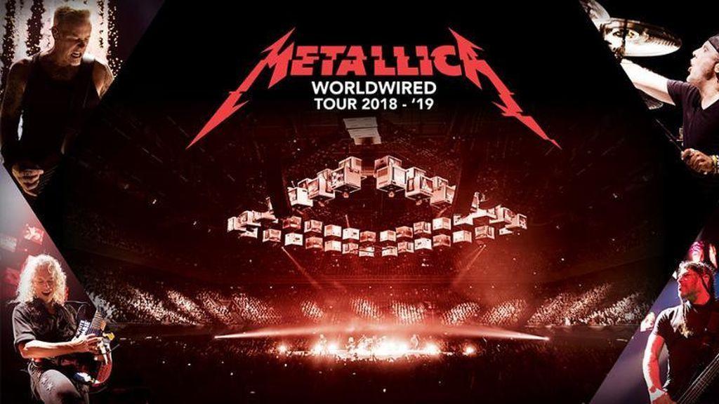 Metallica pone a la venta las entradas para sus conciertos en Madrid y Barcelona