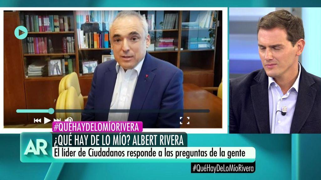 """La pregunta de Simancas, a Albert Rivera : """"¿Cuál es la ideología de su partido?"""