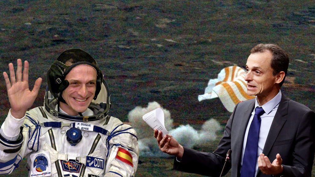 Pedro Duque aterriza en el lodazal del mundo política