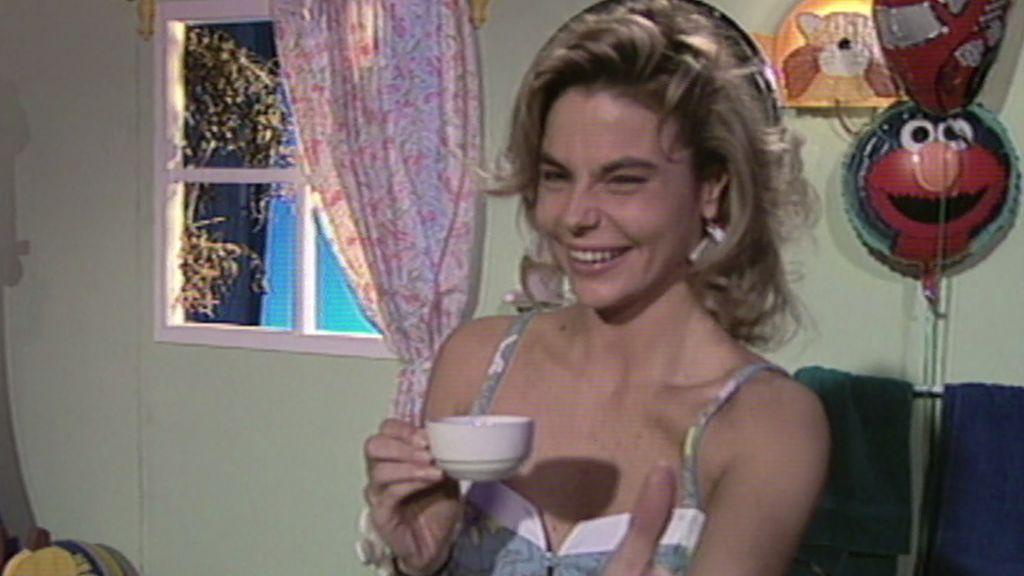 Leticia Sabater fue la encargada de despertar a los niños en 1991 con 'Desayuna con Alegría'