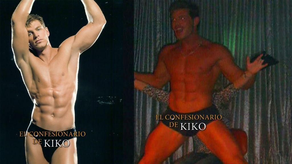 El álbum privado de Darek como stripper