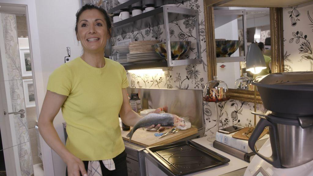 Nagore Robles pincha en el postre de la final de 'Ven a cenar conmigo'