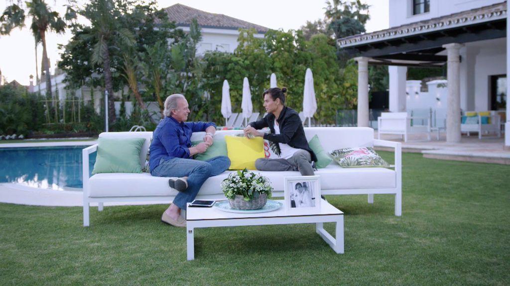 """Julio Iglesias Jr se enfrenta a la gran pregunta: """"¿Vas a tener hijos con Charisse?"""""""