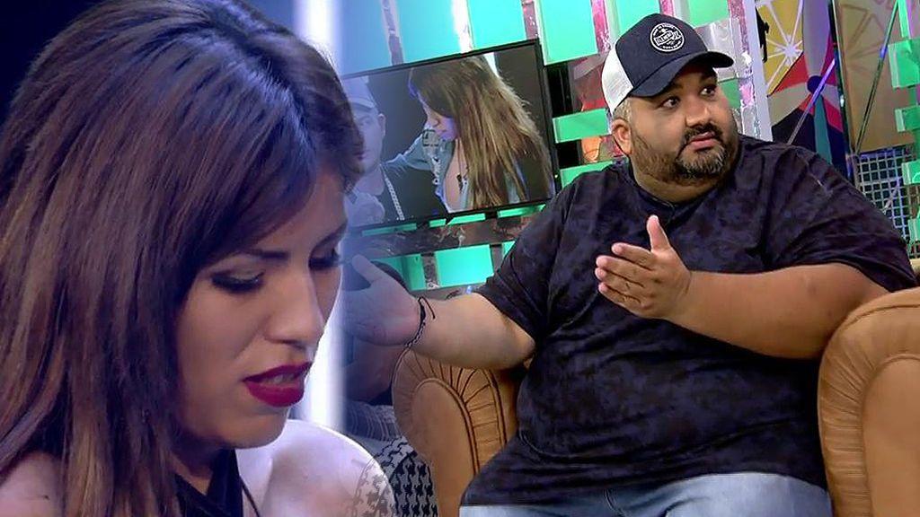 """El mejor amigo de Omar Montes y su particular vocabulario: """"Chabelita es una sin lachona"""""""