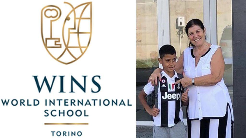 16.000 euros anuales, tres profesores españoles y a 3 minutos del estadio de la Juve: así es el colegio de Cristiano Jr