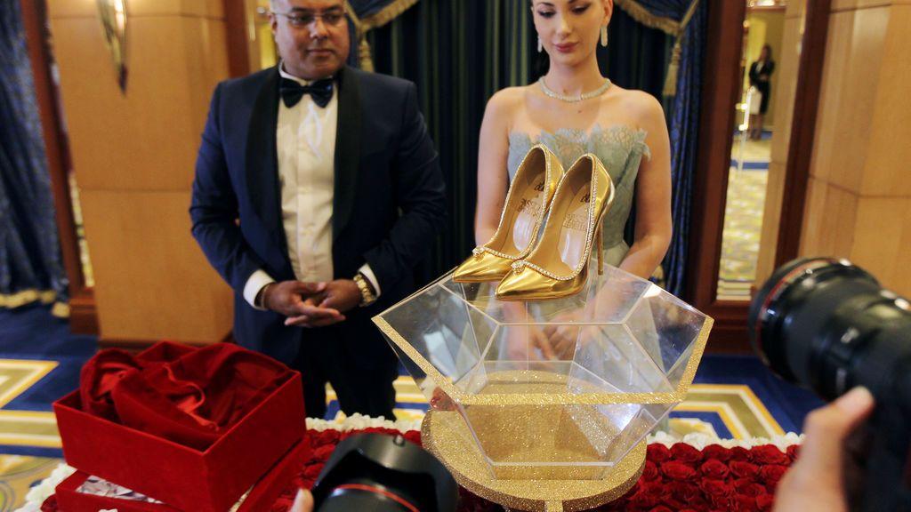Los tacones más caros del mundo: 15 millones y 236 diamantes