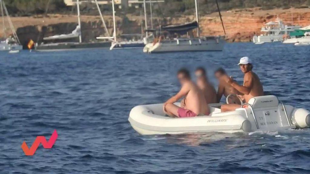 El rifirrafe entre Rafa Nadal y Sergio Garrido: ¡no quiere más fotos!