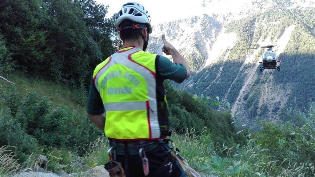 Muere un montañero tras una caída de cien metros en  la Cresta de Salenques, en Huesca
